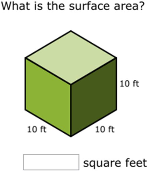 Finding surface area - Basic mathematics