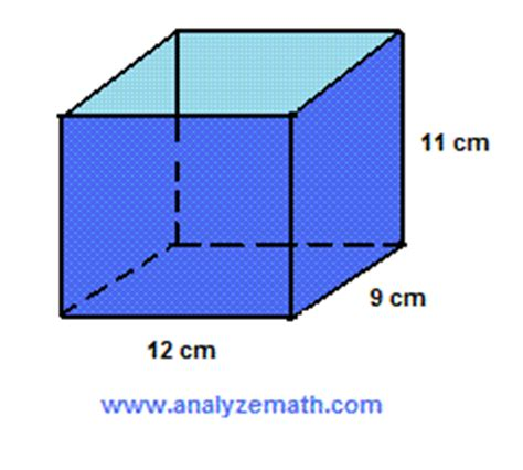 SOLVING SURFACE AREA AND VOLUME PROBLEMS