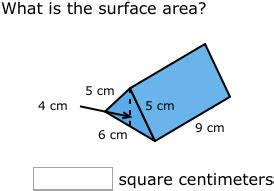 Problem solving surface area questions